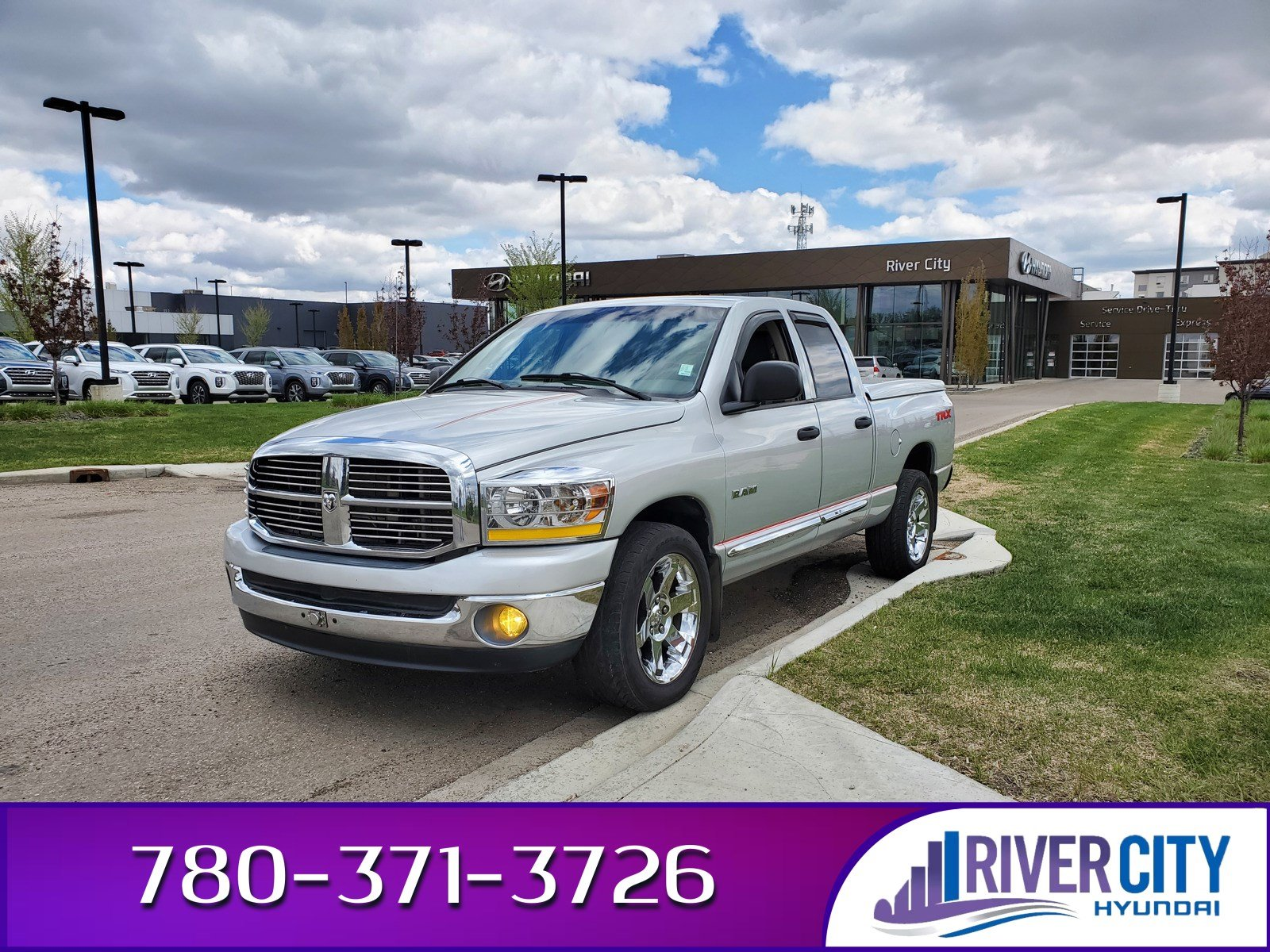 Pre-Owned 2008 Dodge Ram 1500 TRX Leather, Heated Seats, A/C,