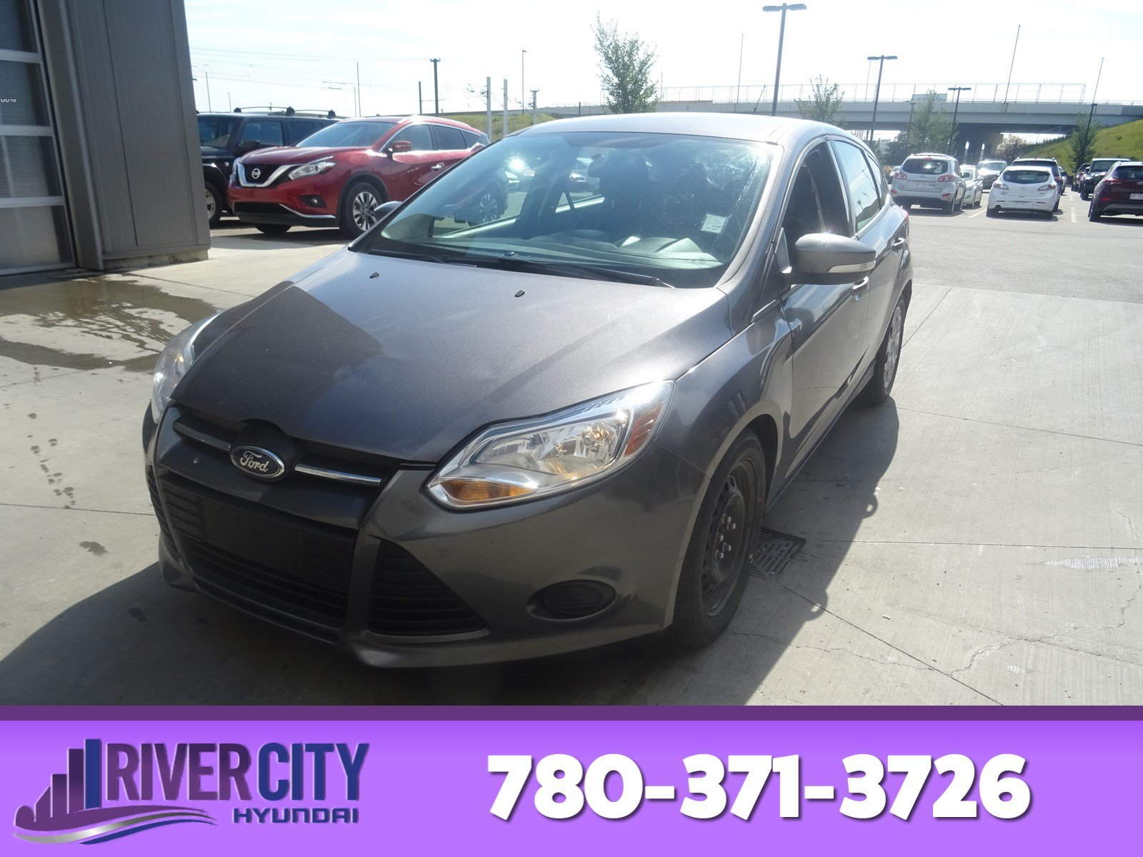 Pre Owned 2014 Ford Focus Hatchback In Edmonton 14c1697 River 2012 Antenna Se Bluetooth A C