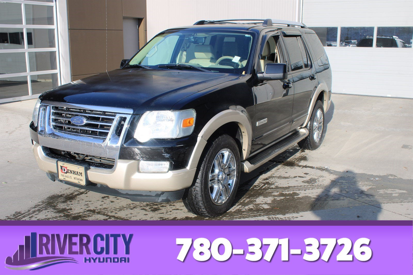2007 Ford Explorer Eddie Bauer >> Pre Owned 2007 Ford Explorer Awd Eddie Bauer Leather Heated Seats Sunroof A C
