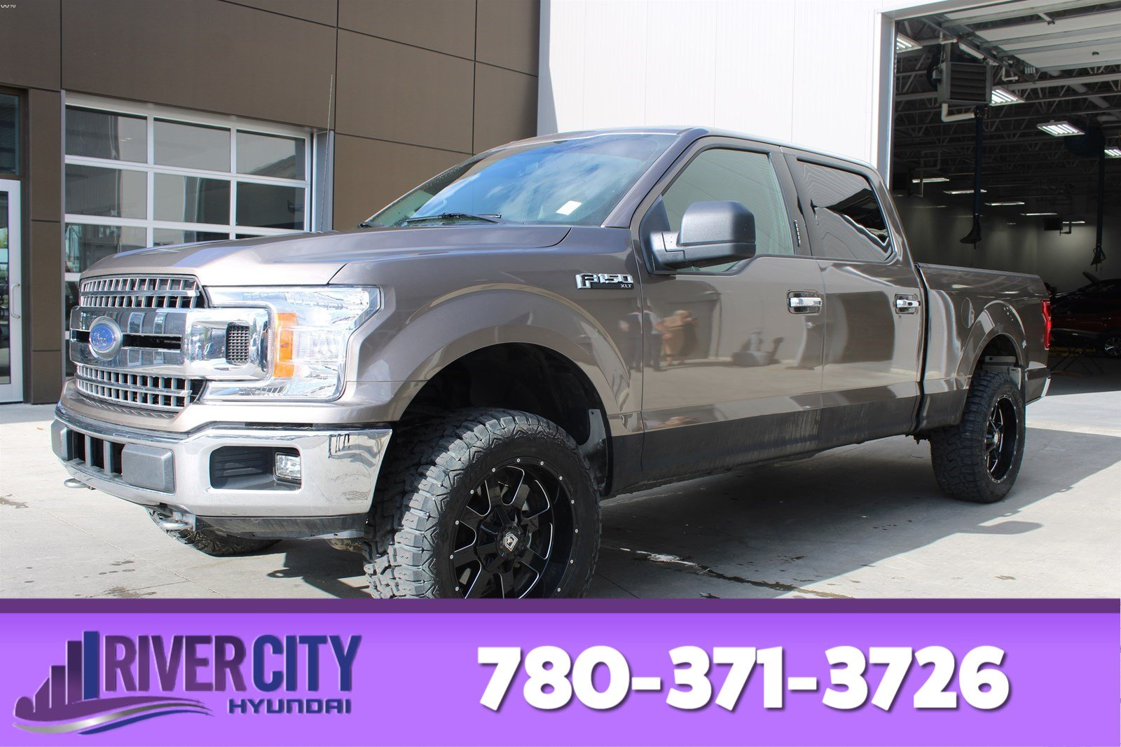 Pre-Owned 2018 Ford F-150 4X4 SUPERCREW XLT Bluetooth, A/C,