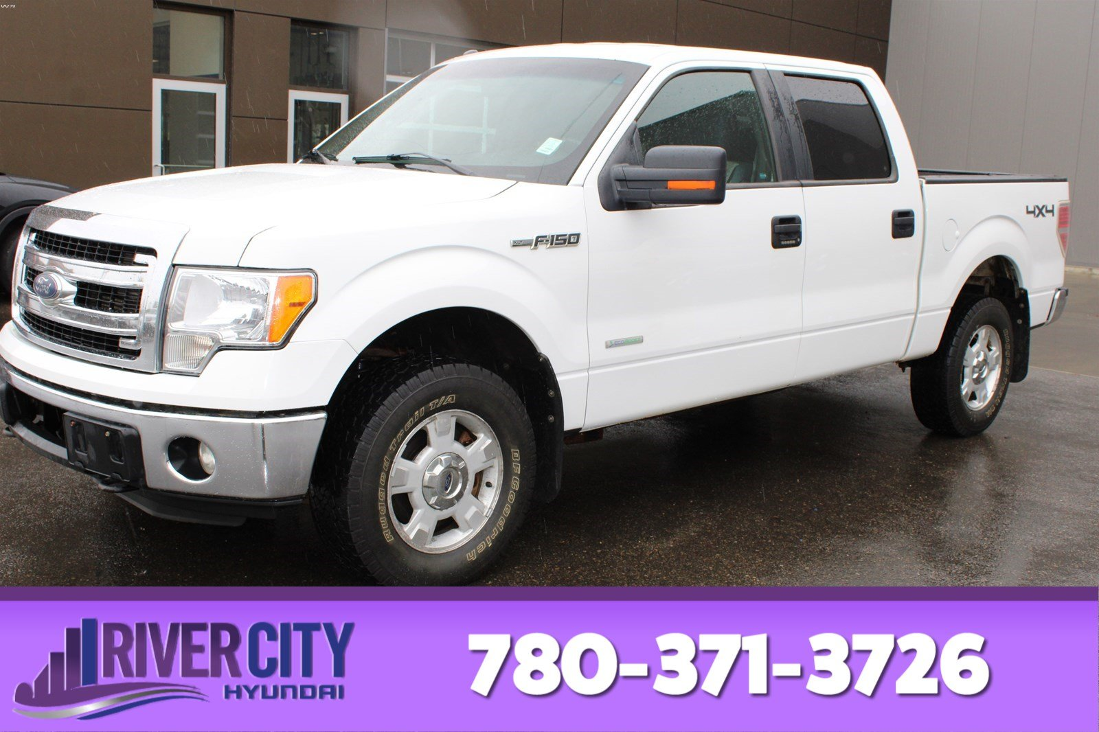 Pre-Owned 2014 Ford F-150 4X4 SUPERCREW XTR Back-up Cam, Bluetooth, A/C,