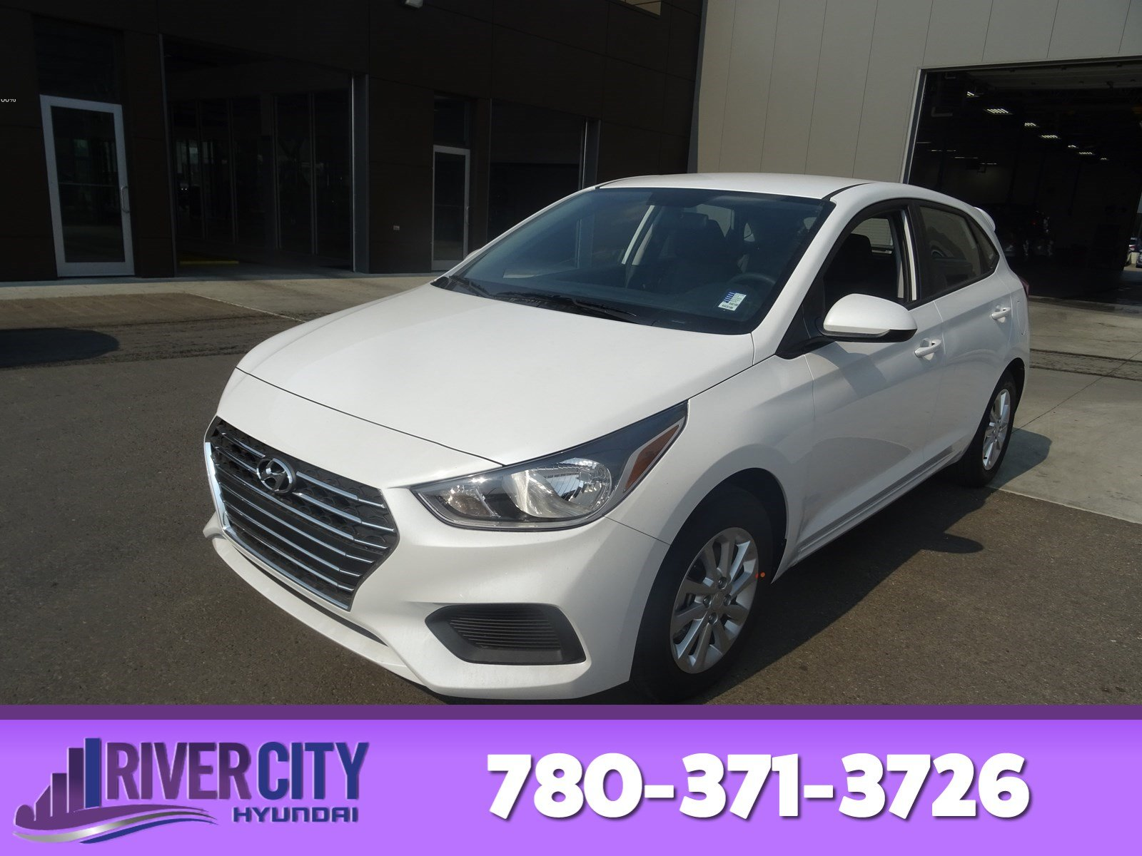 Hyundai Accent Hatchback >> New 2019 Hyundai Accent Hatchback In Edmonton Kac6186 River City