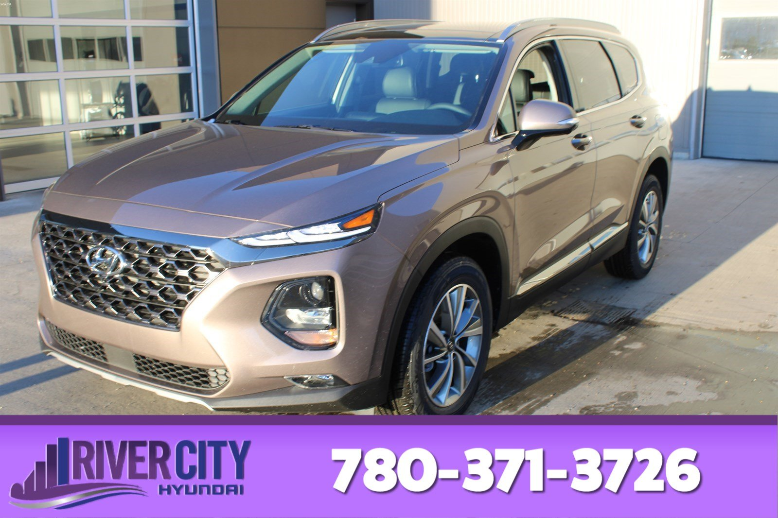 New 2020 Hyundai Santa Fe LUXURY AWD 2.0T POWER PANORAMIC SUNROOF,LEATHER SEATING SURFACES,REARVIEW CAMERA,BLUETOOTH