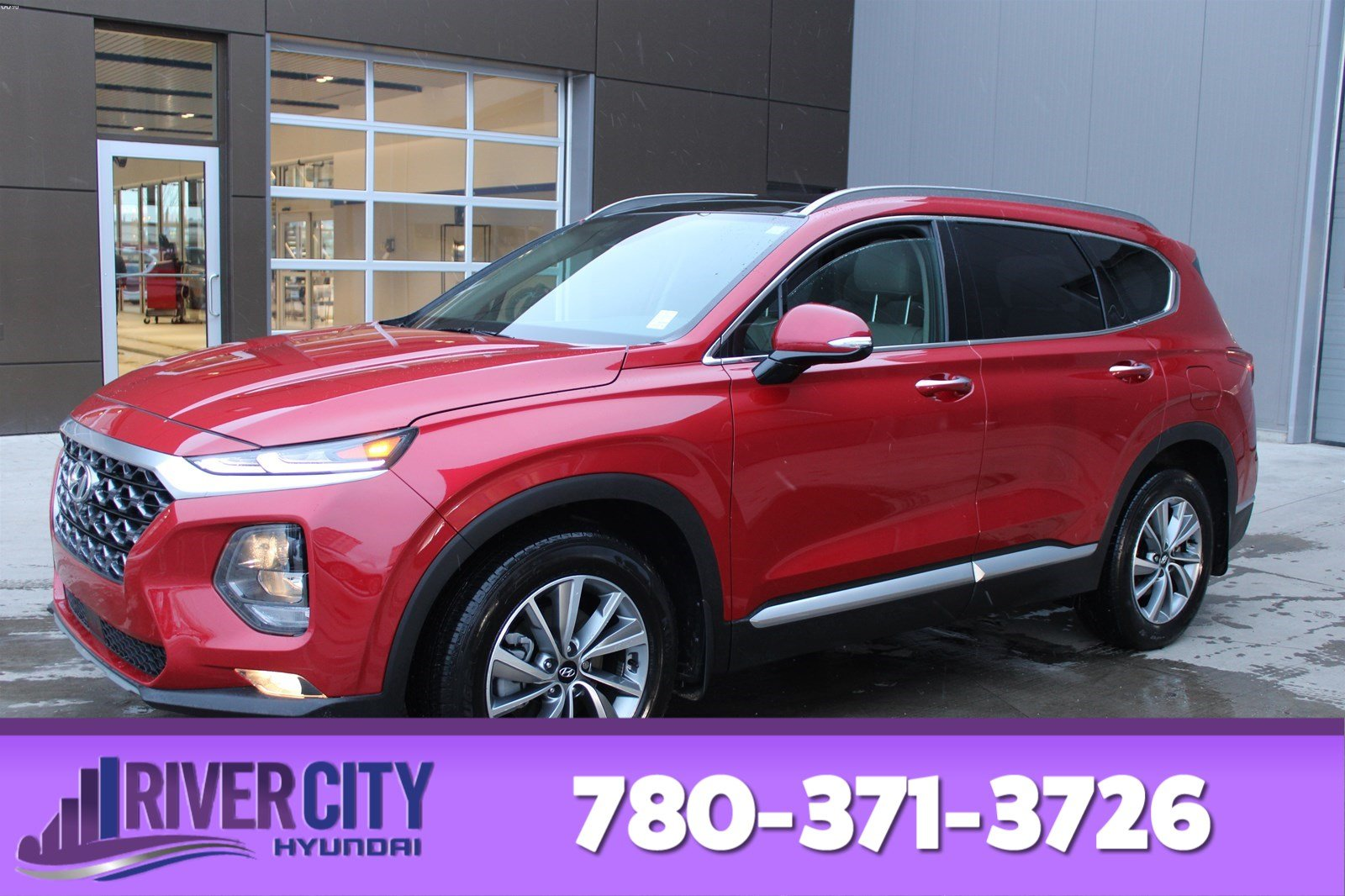Certified Pre-Owned 2019 Hyundai Santa Fe AWD LUXURY Leather, Heated Seats, Panoramic Roof, Back-up Cam, Bluetooth,