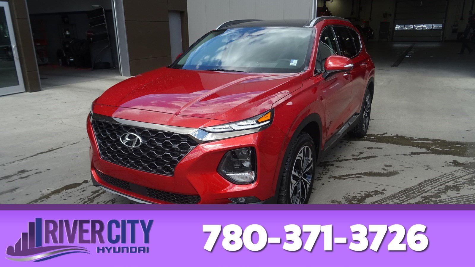 New 2019 Hyundai Santa Fe ULTIMATE AWD 2.0T 8 TOUCH SCREEN NAV SYSTEM,BLUELINK,INFINITY PREMIUM AUDIO,LEATHER SEATING SURFACE