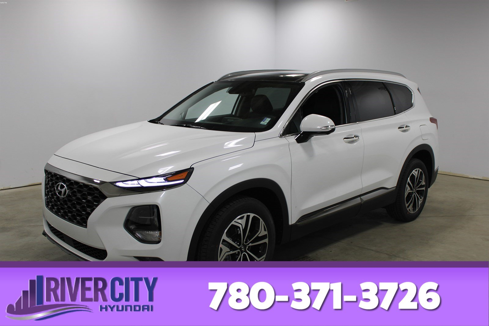 New 2020 Hyundai Santa Fe ULTIMATE AWD 2.0T POWER PANORAMIC SUNROOF,LEATHER SEATING SURFACES,REARVIEW CAMERA,BLUETOOTH
