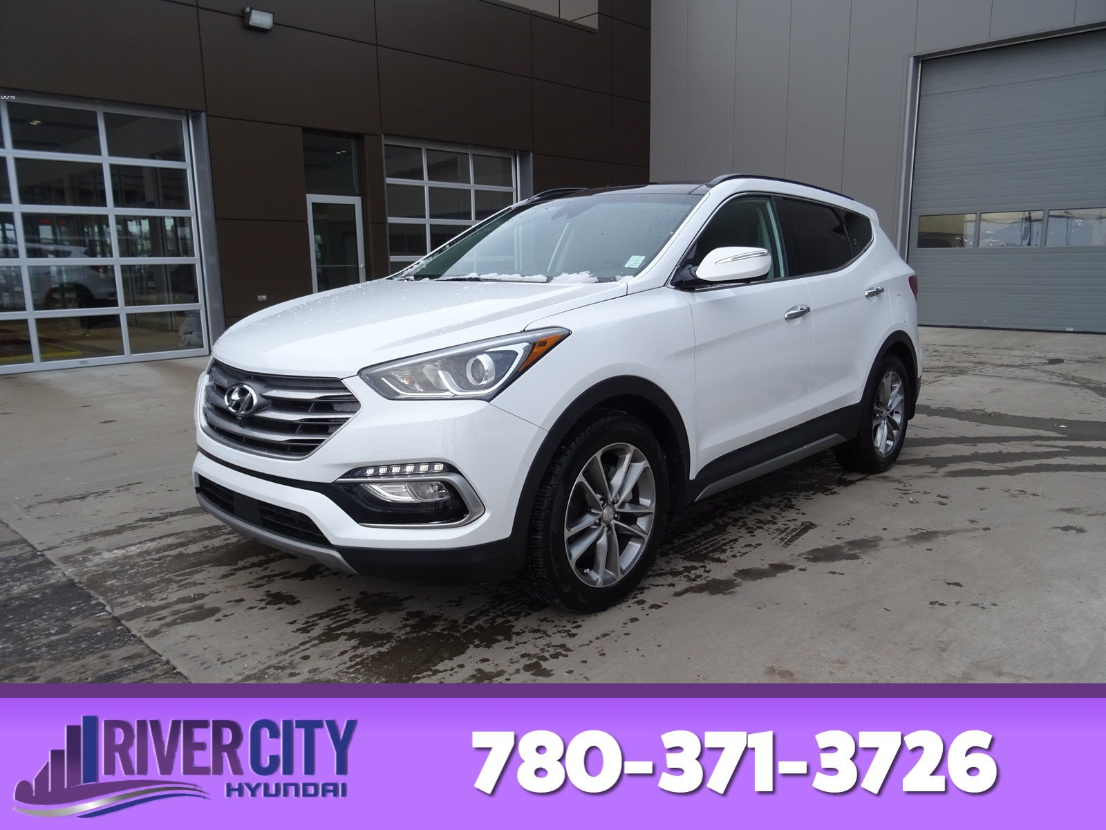 Pre Owned 2017 Hyundai Santa Fe Sport Awd Ultimate Navigation Gps Leather Heated Seats Panoramic Roof Back Up Cam Bluetooth