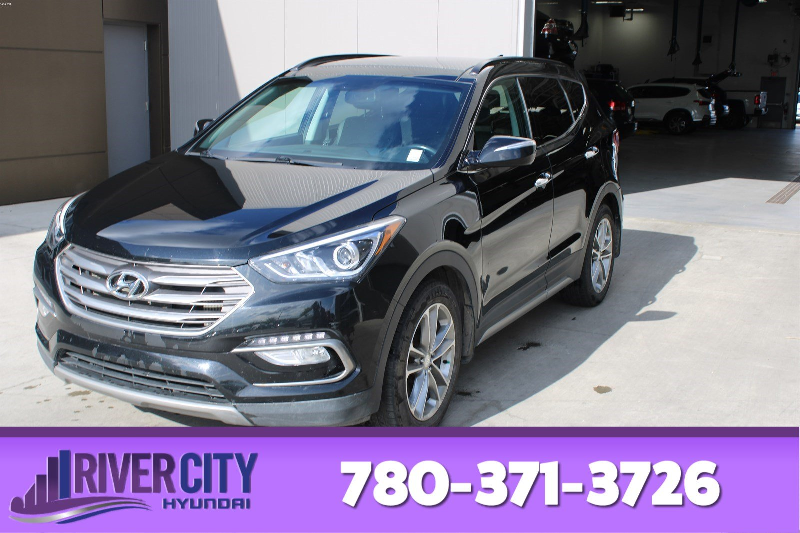 Certified Pre-Owned 2017 Hyundai Santa Fe Sport AWD LIMITED Navigation (GPS), Heated Seats, Panoramic Roof, Back-up Cam, Bluetooth, A/C,