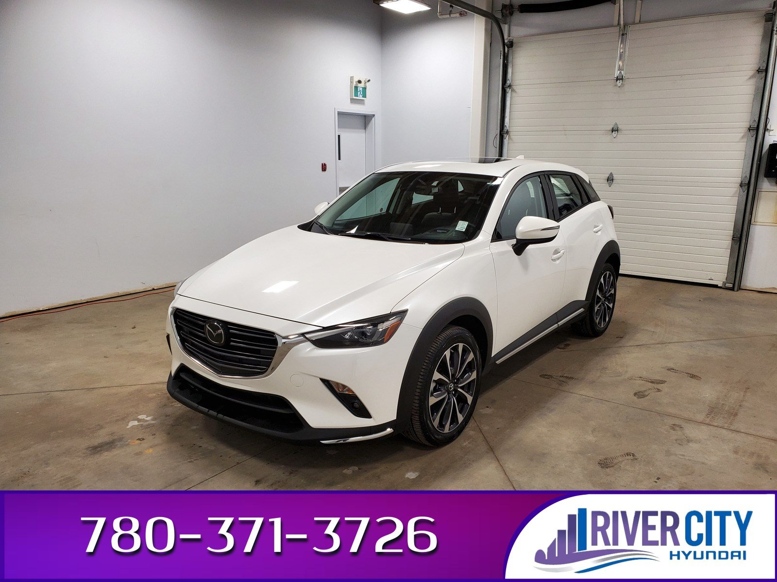 Pre-Owned 2019 Mazda CX-3 AWD GT Leather, Heated Seats, Back-up Cam, Bluetooth, A/C,