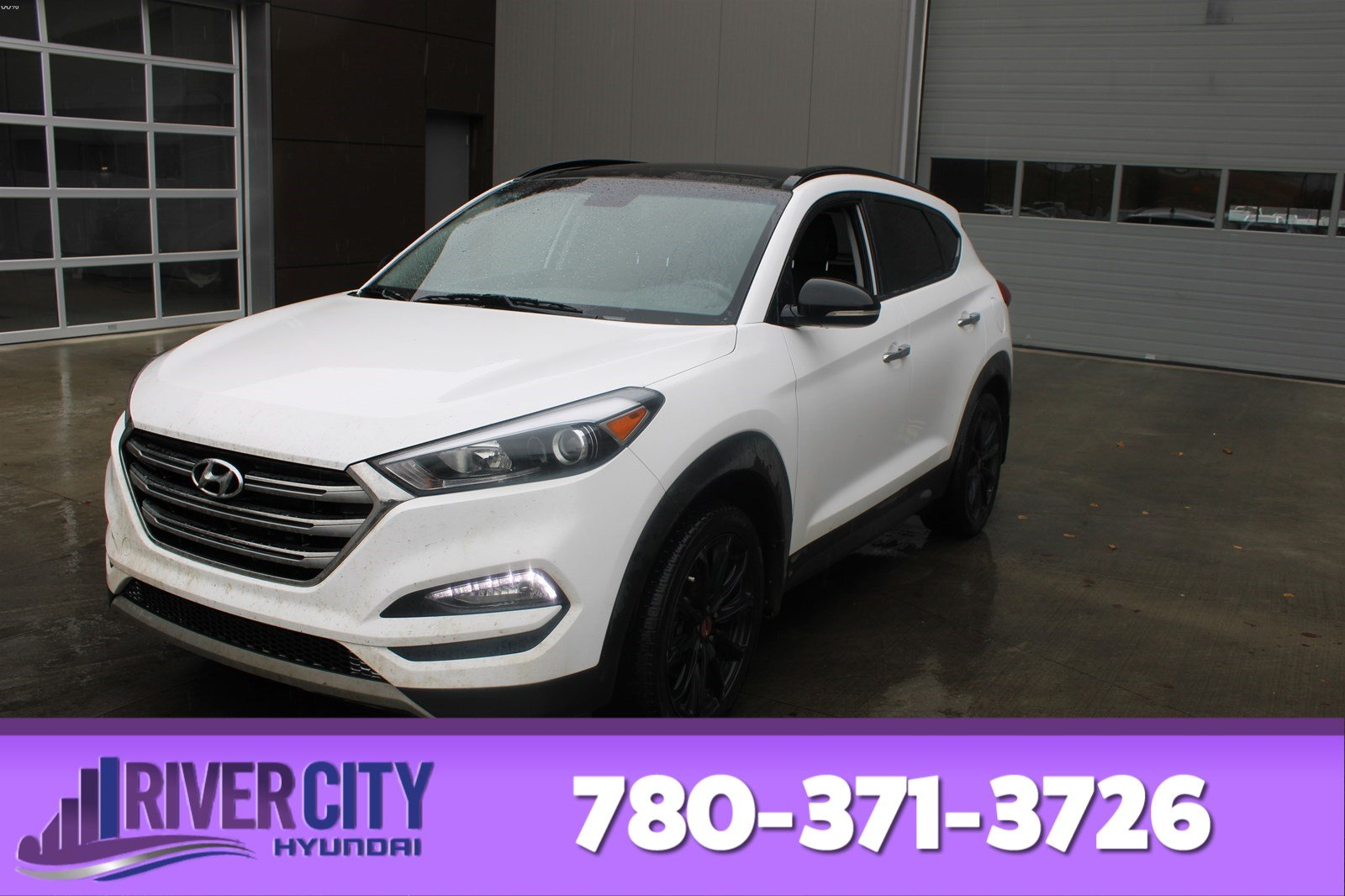 Certified Pre-Owned 2018 Hyundai Tucson AWD NOIR EDITION Heated Seats, Sunroof, Bluetooth, A/C,