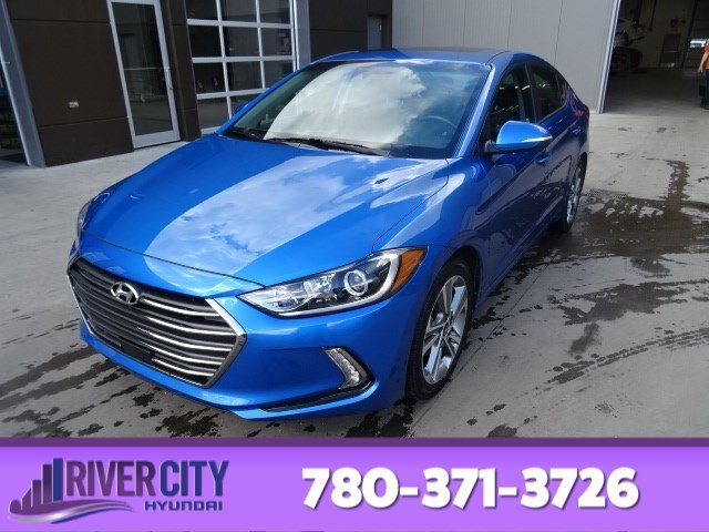 Certified Pre-Owned 2018 Hyundai Elantra GLS Leather, Sunroof, Back-up Cam, Bluetooth, A/C,