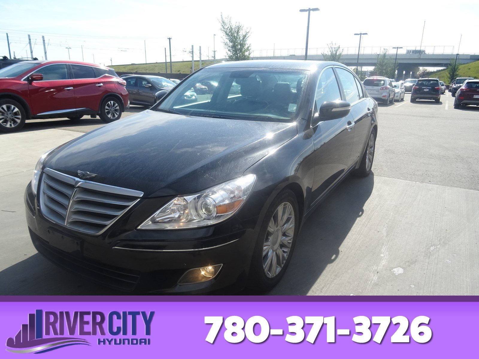 Certified Pre Owned 2011 Hyundai Genesis Sedan PREMIUM WITH TECH Navigation  (GPS), Leather, Heated Seats, Sunroof, Back Up Cam, Bluetooth,