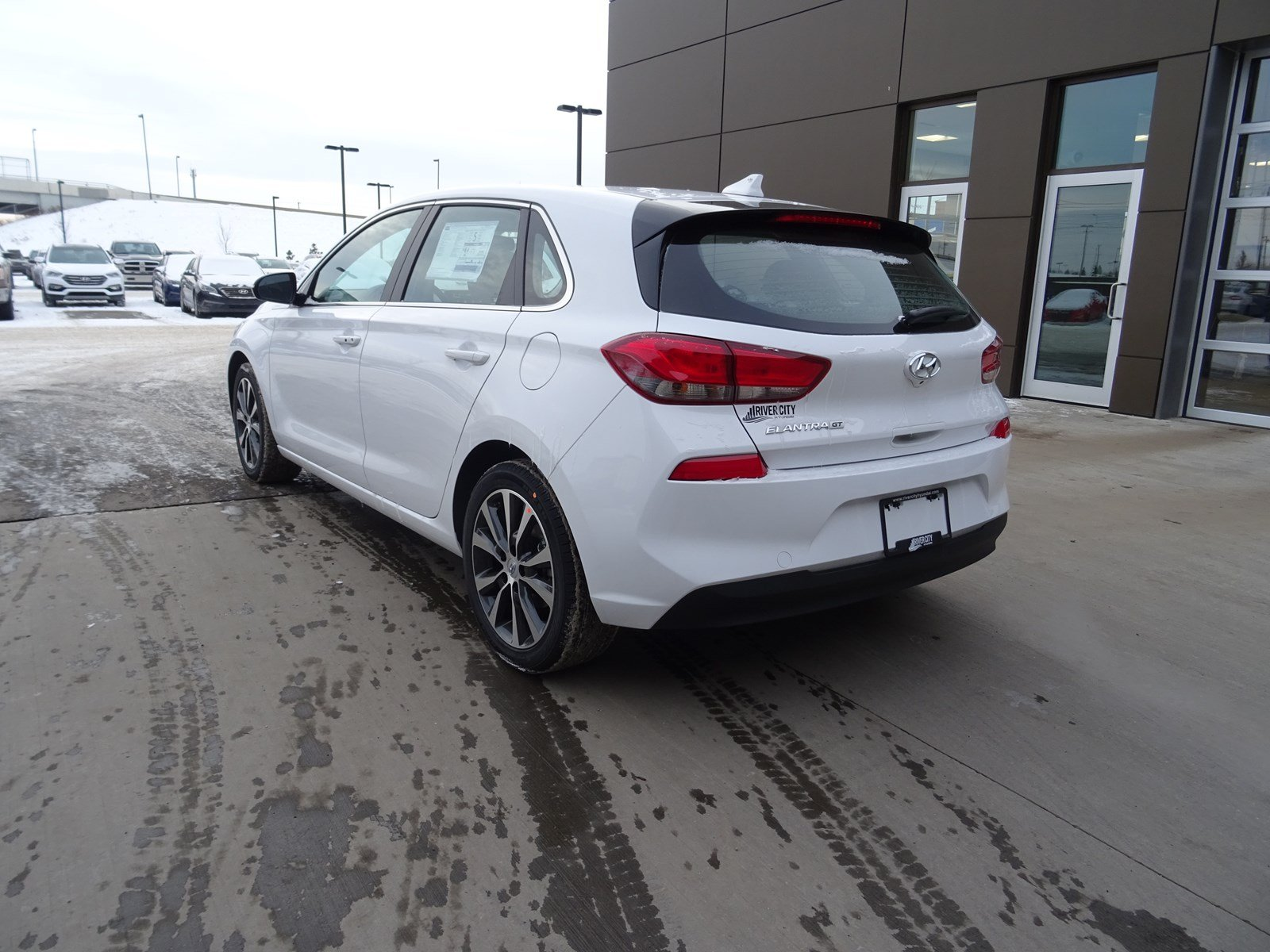 New 2018 Hyundai Elantra GT Hatchback in Edmonton #JEL1950 | River ...