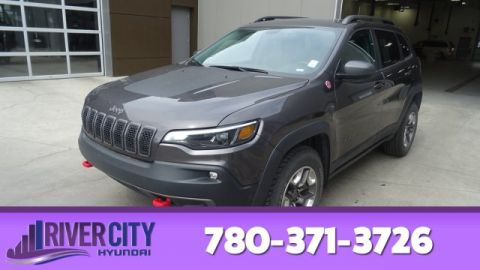 2019 Jeep Cherokee AWD TRAILHAWK Leather,  Heated Seats,  Bluetooth,  A/C,