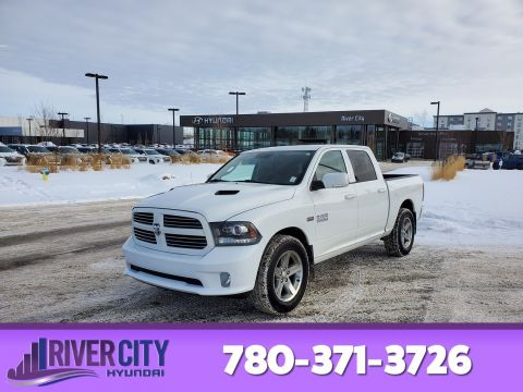 Pre-Owned 2013 Ram 1500 4X4 CREWCAB SPORT Leather, Heated Seats, Sunroof, Back-up Cam,