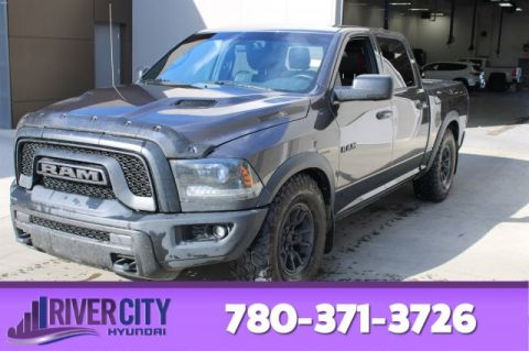 2015 Ram 1500 CREW REBEL 4X4 Leather,  Heated Seats,  Sunroof,  Back-up Cam,  Bluetooth,