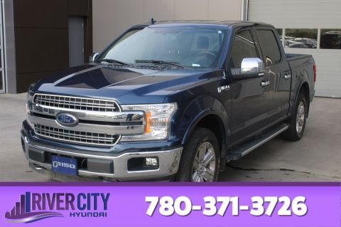 Pre-Owned 2018 Ford F-150 4X4 SUPERCREW LARIAT Navigation (GPS), Leather, Heated Seats, Back-up Cam, Bluetooth,