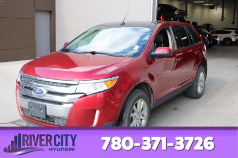 Pre-Owned 2013 Ford Edge AWD SEL Leather, Heated Seats, Panoramic Roof, Back-up Cam,