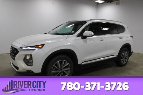 Certified Pre-Owned 2019 Hyundai Santa Fe AWD LUXURY 2.0T Navigation (GPS), Leather, Heated Seats, Panoramic Roof,