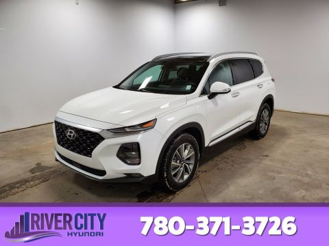 Certified Pre-Owned 2019 Hyundai Santa Fe AWD LUXURY 2.0T Navigation (GPS), Leather, Heated Seats, Panoramic Roof, Back-up Cam, Bluetooth