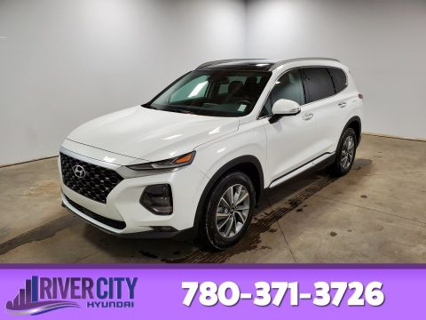 Certified Pre-Owned 2019 Hyundai Santa Fe AWD LUXURY 2.0T Leather, Heated Seats, Panoramic Roof, Back-up Cam, Bluetooth,