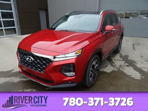 2019 Hyundai Santa Fe ULTIMATE AWD 2.0T 8 TOUCH SCREEN NAV SYSTEM,BLUELINK,INFINITY PREMIUM AUDIO,LEATHER SEATING SURFACE