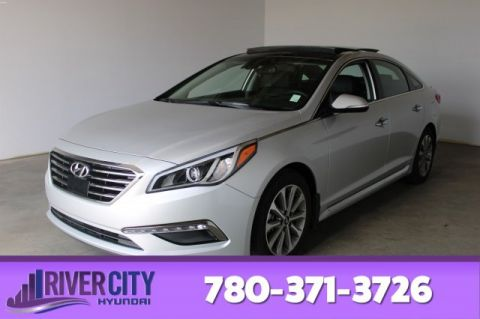 2017 Hyundai Sonata LIMITED Navigation (GPS),  Leather,  Heated Seats,  Panoramic Roof,  Back-up Cam,  Bluetooth,  A/C,