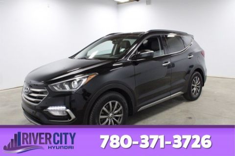 2017 Hyundai Santa Fe Sport LIMITED AWD Leather,  Heated Seats,  Panoramic Roof,  Bluetooth,  A/C,