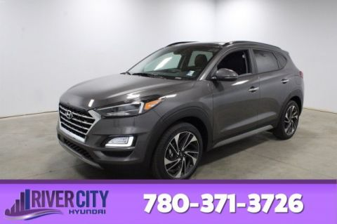 2020 HYUNDAI TUCSON ULTIMATE AWD LEATHER SEATING SURFACES,FRONT 3 STAGE HEATED SEATS,REARVIEW CAMERA,PANORAMIC SUNROOF L