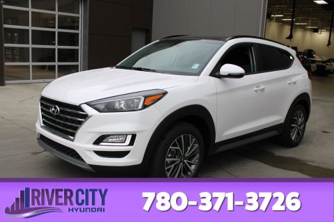 New 2020 Hyundai Tucson LUXURY AWD LEATHER SEATING SURFACES,FRONT 3 STAGE HEATED SEATS,REARVIEW CAMERA,HEATED STEERING WHEEL