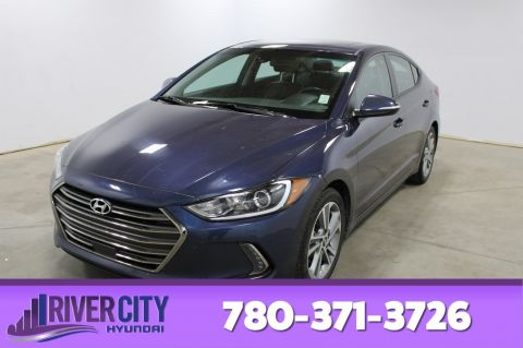 Certified Pre-Owned 2018 Hyundai Elantra GLS Leather, Heated Seats, Sunroof, Back-up Cam, Bluetooth, A/C,