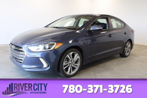 Certified Pre-Owned 2018 Hyundai Elantra GLS Leather, Heated Seats, Back-up Cam, Bluetooth, A/C,