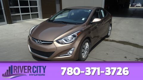 Certified Pre-Owned 2015 Hyundai Elantra SPORT Heated Seats, Sunroof, Bluetooth, A/C,