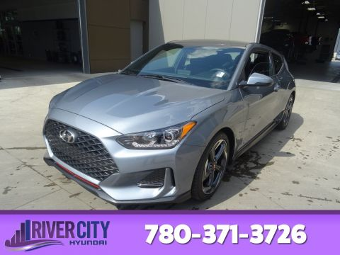 New 2019 Hyundai Veloster TURBO 7SPD DCT Sunroof, Bluetooth, Heated Seats & Steering, Back Up Camera,